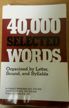 Massive Word Selection