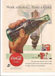 Vintage Coca Cola Ads | Hunie