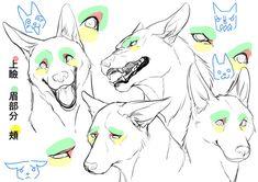 身体の仕組みから考える! 獣人を描き方講座|イラストの描き方  表情    How to Draw Therianthropes | Illustration Tutorial  Understanding Humand and Animal Anatomy  Facial Expressions