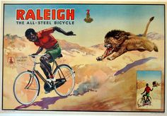 East Africa Raleigh Bicycle Poster
