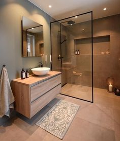 diy bathroom remodel small Unique small bathroom remodel ideas are amazing with a small budget # Scandinavian Bathroom Design Ideas, Modern Bathroom Design, Bathroom Interior Design, Bathroom Designs, Minimal Bathroom, Bath Design, Classic Bathroom, Bathroom Trends, Interior Modern