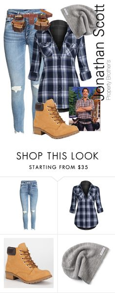 """""""Ms. FixIt (inspired by Jonathan Scott of Property Brother's)"""" by nikitamarceau on Polyvore featuring Soda and Converse"""
