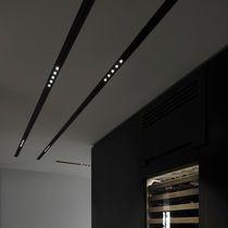 Profil éclairant pour plafond / encastrable / à LED / modulaire