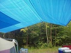 How to Set Up a Tarp Without Tent Poles Camping Canopy, Best Tents For Camping, Cool Tents, Camping Items, Camping World, Tent Camping, Camping Hacks, Outdoor Camping, Camping Outdoors