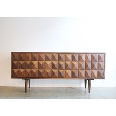 Modern Credenza / Custom Made / Mid Century Style by Deco Furniture, Plywood Furniture, Accent Furniture, Cool Furniture, Modern Furniture, Furniture Design, Diy Storage Table, Plumbing Pipe Furniture, Living Room Redo