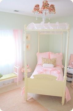 Baby Girl Room Decor - Preparing for your Baby's Area | Nursery Ideas