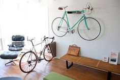 17 Space-Saving Bike Racks - A Simple Bike Rack Makes Storing Your Two-Wheeled Chariot a Cinch (TOPLIST)