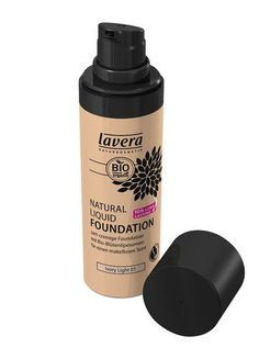 Natural Liquid Foundation von Lavera, um 8,50 €