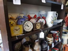 Clocks from the past, but still working... You can find them in our shop in shop at Houtplein 16, Haarlem, The Netherlands.