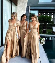 Empire Maroon Long Bridesmaid Dresses with Deep V Neck- Empire Maroon Long Bride. - Empire Maroon Long Bridesmaid Dresses with Deep V Neck- Empire Maroon Long Bridesmaid Dresses with Deep V Neck - Source by erdowed - Bridesmaid Dresses Long Champagne, Olive Green Bridesmaid Dresses, Bridesmaid Dress Styles, Wedding Bridesmaid Dresses, V Neck Wedding Dress, The Dress, Empire, Formal Prom, Bridesmaids