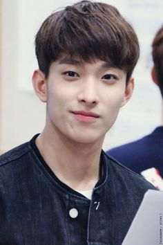 PLEDIS 17 - DK   - DK is moving up my list..  He seems like a gentle, kind soul..  and that smile is stunning...