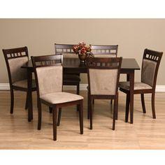 Warehouse Of Tiffany Shirlyn 7 Piece Dining Furniture Set