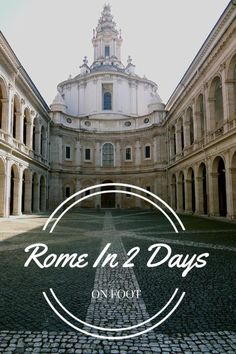 If you've only got 2 days in Roma, this could be helpful for finding some ideas and planning your visit!