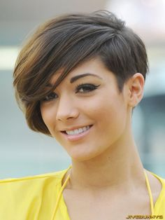 My next haircut. this is similar to the one I already have but this one has a little more swag than mine :)