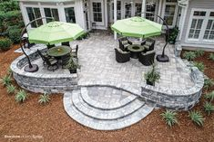 Create an outdoor living space you can enjoy every day. #tremron #tremrongroup #patiodesign #outdoorliving #bluestone Backyard Designs, Patio Design, Design Projects, Design Ideas, Hardscape Design, Brick Pavers, Tampa Florida, Outdoor Living, Outdoor Decor