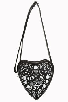 Cat Ouija Bag by Banned ☽Best blog for dark and alternative finds☾