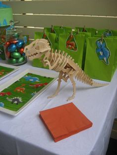 Dinosaur Birthday Party Ideas | Photo 1 of 12 | Catch My Party