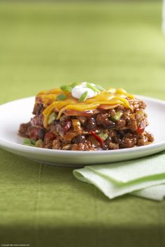 Spicy Mexican Beef Bake