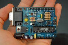 A placa cabe na palma da mão, mas nos possibilita criar tecnologias que melhoram…
