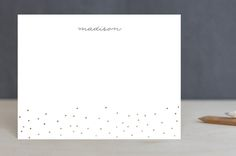 Gold Dotted by Kelly Nasuta at minted.com