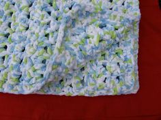 This is an easy crochet beginner pattern for a seed stitch baby blanket. It uses only two crochet stitches, the single crochet and the double crochet, the very basic of crochet skills. It is crocheted using super soft Bernant Baby Blanket yarn, so its warm and gentle on a babys delicate skin. It also works up quickly! --Finished dimensions are 30-inch by 30-inch. --Uses Bernant Baby Blanket yarn  I developed this pattern for my nephew, Waylon, born in February 2017. I wanted an extremely…