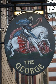 The George, Borough High Street, Southwark, London