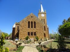 Church in Rosendal, near Clarens.