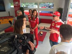 """Raikkonen:""""It's like this, I get in and press the gas, and turn the wheel! That's it!"""""""