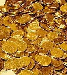 Gold coins...
