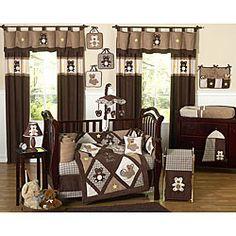 Love the Teddy Bears for Baby Boys Room!Sweet Jojo Designs Teddy Bear 9-piece Crib Bedding Set