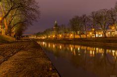 Turku - Aura River Helsinki, Finland, Country Roads, River, Rivers