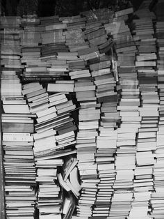 """Ah. Yes. My """"to be read"""" pile."""