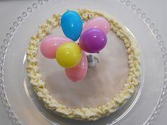 Humua -kaikkien juhlien ideapankki » DIY- Kakkukoriste, ilmapallot Muumin kourassa Cake Toppers