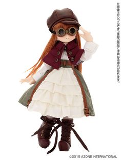 Visit here to learn about the Lil Fairy Neilly. The newest Azone International doll to the Lil' Fairy series. Get the details here so you don't miss out!