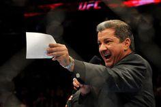 Bruce Buffer, Octagon announcer for UFC events.