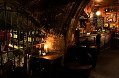 hot bars in london - Google Search Cellar 104 (use the gates in the wine cellar.)
