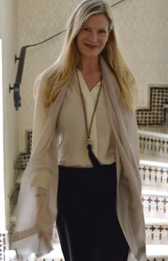 Great outfit - silk shirt, long line scarf and tassel necklace from MaiTai's Picture Book: Marrakech part III