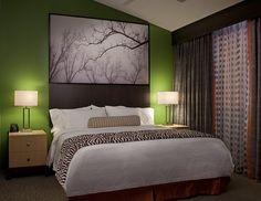 Project: Doubletree Suites by Hilton Huntsville, AL Product: Shaw Hospitality Group custom Vivid Palette tufted carpet; custom CYP public space carpet. Firm: Design Directions International