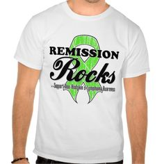Remission Rocks - Non-Hodgkins Lymphoma Awareness T-shirt   by cancerapparelgifts.com #lymphoma #lymphomaawareness #nonhodgkinslymphoma