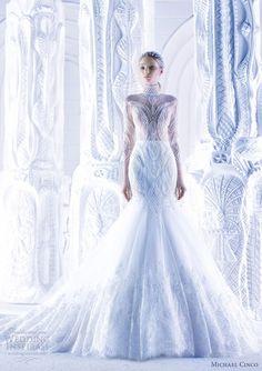 Wedding Dresses Spring 2013 -- Michael Cinco by Vivian Chou, via Behance