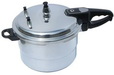 Benecasa BC-61421 Aluminum Pressure Cooker, 4.2-Quart >>> Read more reviews of the product by visiting the link on the image.