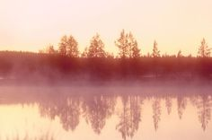 Inari, the largest lake in Lapland.