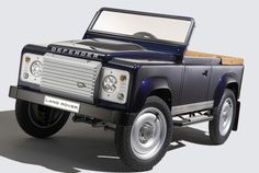 Want To Be The Coolest Dad In The World? Buy This Mini Land Rover Defender For Your Kid. Your childhood self is seeing heaven for the first time.