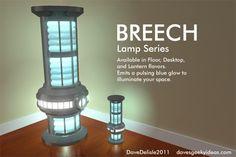 Star Trek Warp Core Lamp IKEA Davesgeekyideas.com Geeky Furniture 2011 2012
