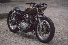 GasCap Motor's Blog: Unapologetic: Soyouz Cycles' custom Yamaha XS650
