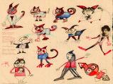 Dibujos de agenda de Maria Egea.