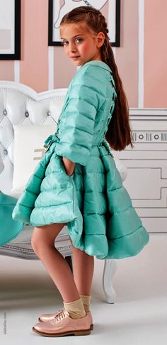"ALALOSHA: VOGUE ENFANTS: NEW!! Elisabetta Franchi is the launch of her first ""La mia bambina"" collection for little girls"