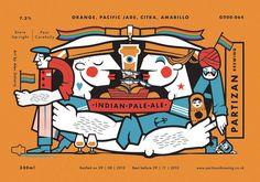 Partizan Brewing - (Rainbow) IPA G000-064