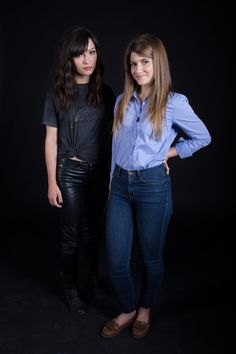 #Hollstein #Carmilla Promo Pics #SeasonOne   Natasha Negovanlis as #CarmillaKarnstein & Elise Bauman as #LauraHollis