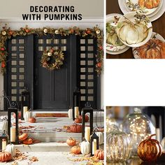 Decorating With Pumpkins | Pottery Barn
